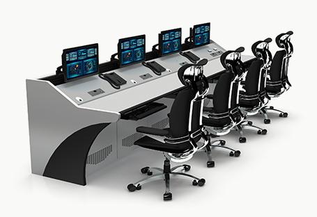 平面监控控制台