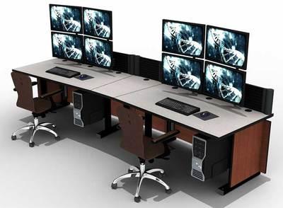 监控调度站的定制结构与设计