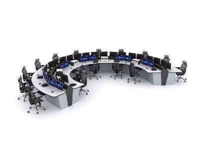 监控室中的监控控制台是如何工作的?
