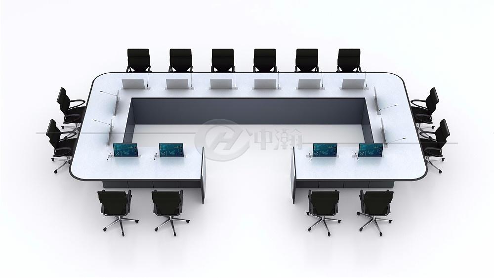智能会议桌01控制台厂家订制