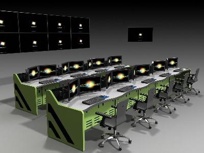 监控控制台及视频监控设备的设计