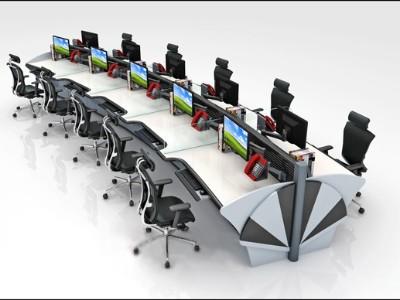 空管控制台外观工艺设计