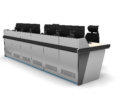 如何设计和建造监控电视墙面监控控制台