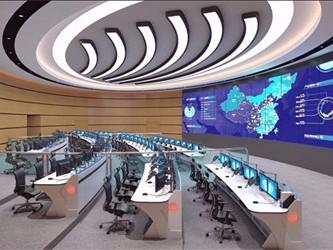 北京某区食品药品卫生监督监控大厅控制台定制