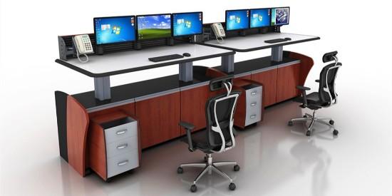 监视控制台具有的内容和控制台自定义的大小要求