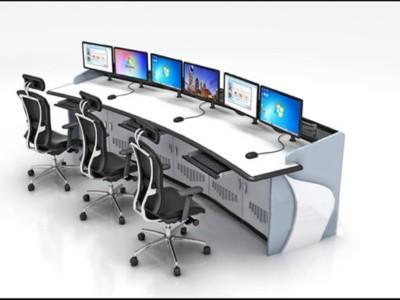 指挥调度监控室应如何布置控制台?