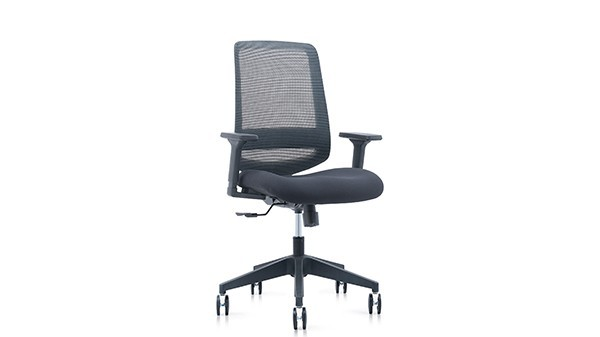 人体工学椅406海绵坐垫网背网背