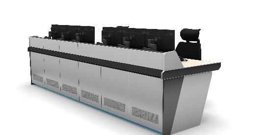 屏幕显示控制台的结构