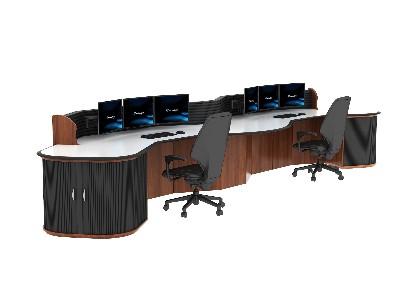 监控台的设计标准决定了要放置的设备类型