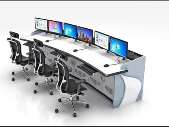 控制台在监控系统中的作用是什么?