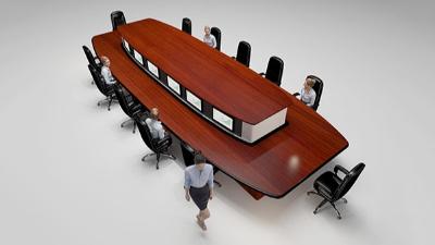 智能会议桌(款式二)