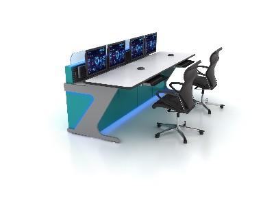如何控制调度控制台中电视墙的监控目的