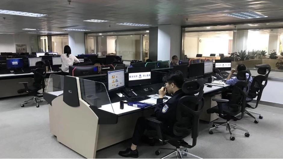 新疆喀什公安局110指挥中心项目