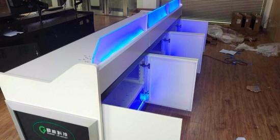 杭州兴达电气设备工程公司控制台项目安装完成