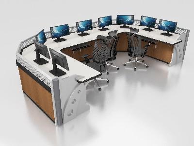 电源控制台可以容纳所有的控制设备