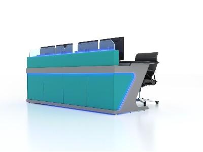 监控室配置控制台的正确处理