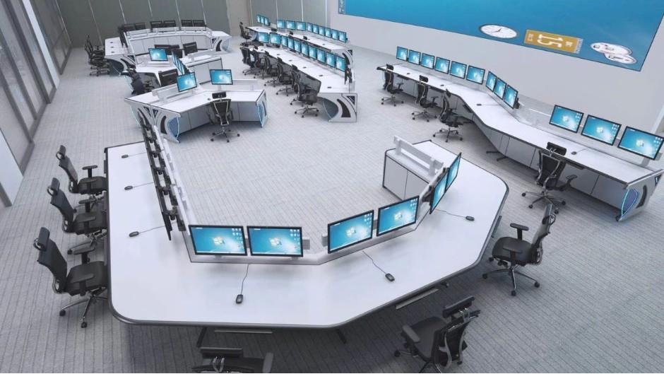 北京市公安局海淀分局110指挥中心控制台定制项目